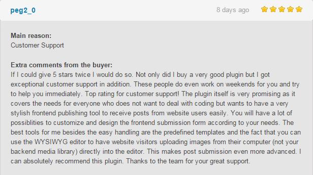 AccessPress Anonymous Post Pro - Frontend Publishing WordPress Plugin - 14