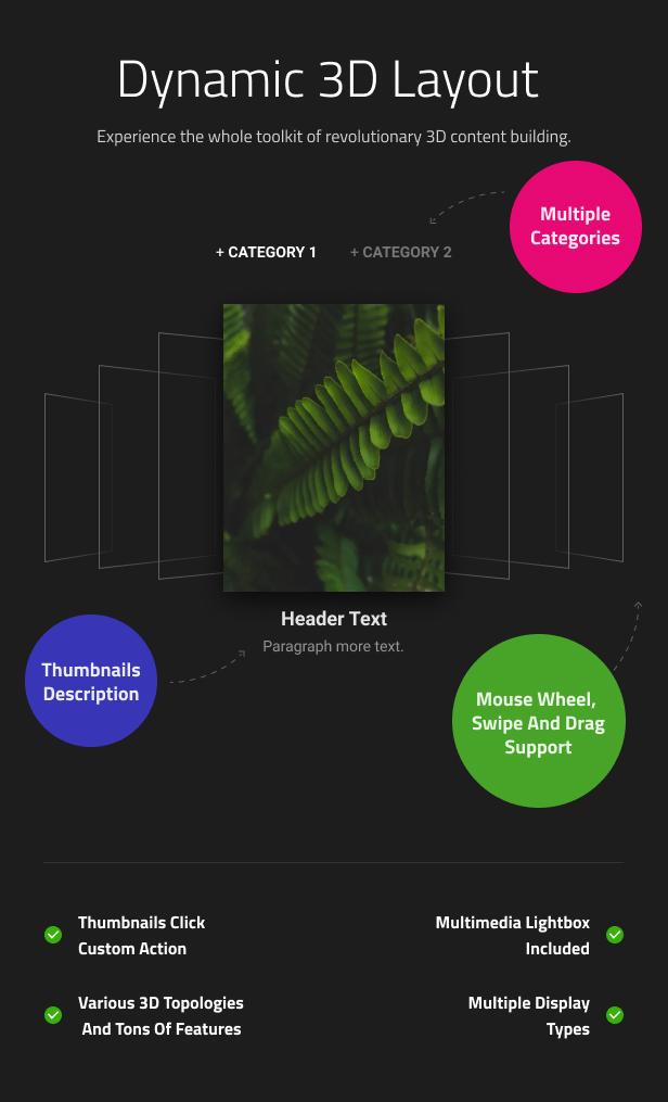Simple 3D Coverflow WordPress Plugin - 8