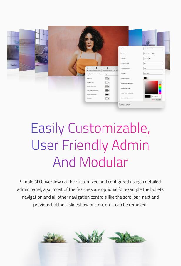 Simple 3D Coverflow WordPress Plugin - 14