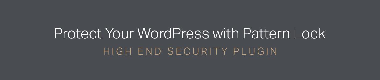 Secure Pattern Lock - WordPress Security Login Plugin - 1