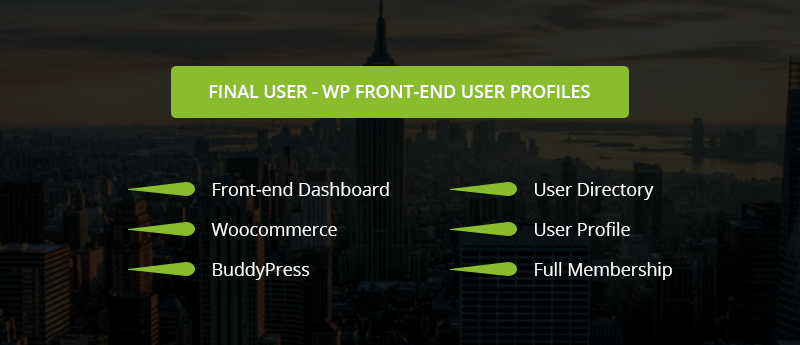 Final User - WP Front-end User Profiles - 3