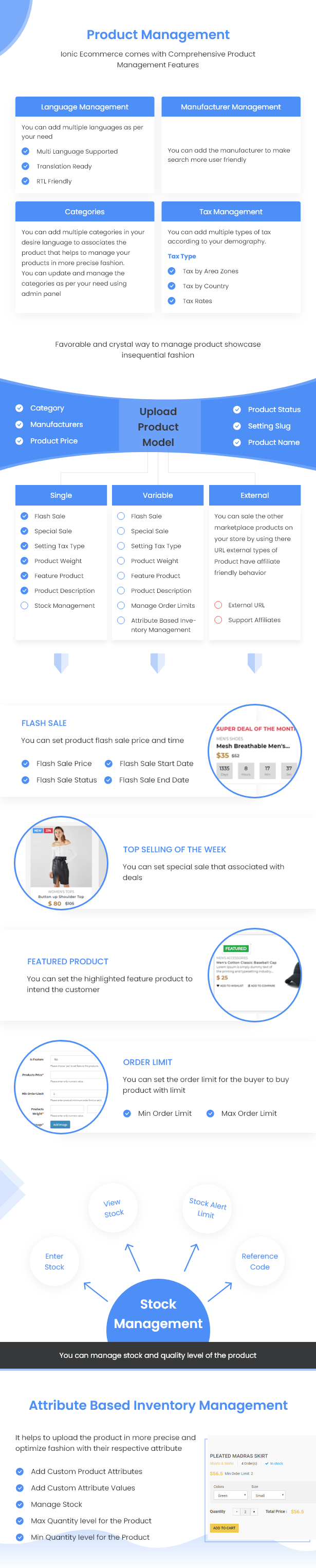 Ionic5 Ecommerce - Universal iOS & Android Ecommerce / Store Full Mobile App with Laravel CMS - 25