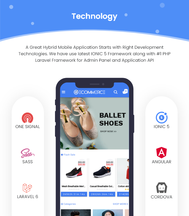 Ionic5 Ecommerce - Universal iOS & Android Ecommerce / Store Full Mobile App with Laravel CMS - 9