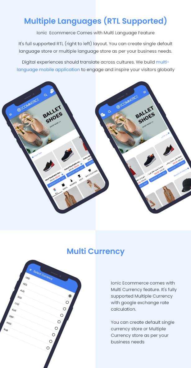 Ionic5 Ecommerce - Universal iOS & Android Ecommerce / Store Full Mobile App with Laravel CMS - 18