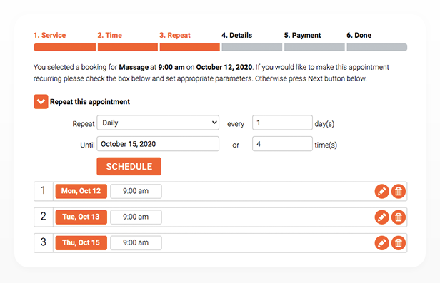 Bookly PRO –Appointment Booking and Scheduling Software System - 303