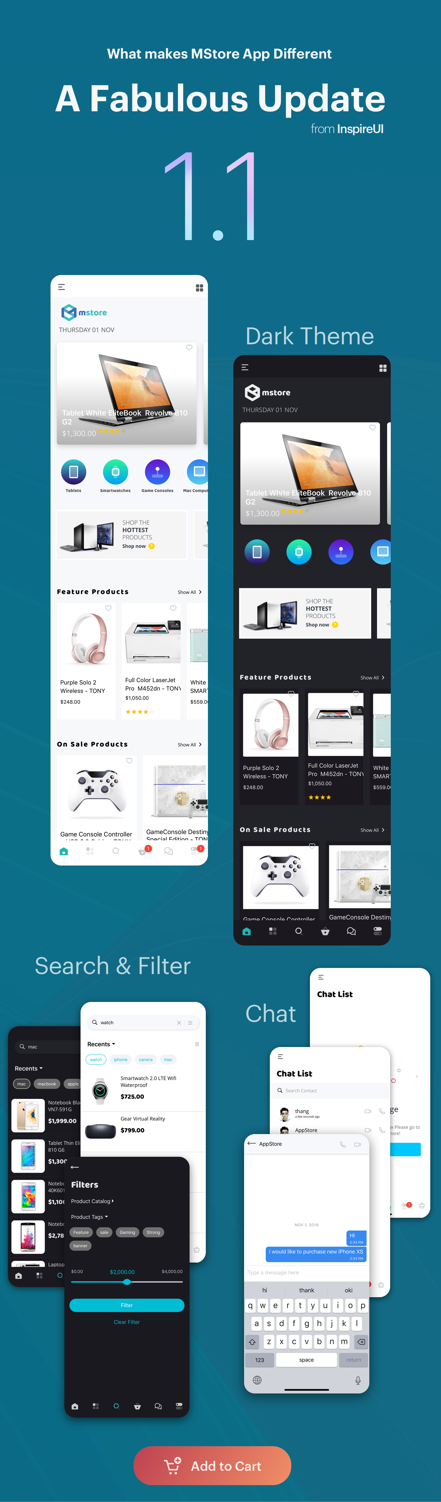 MStore Multi Vendor - Complete React Native template for WooCommerce - 3