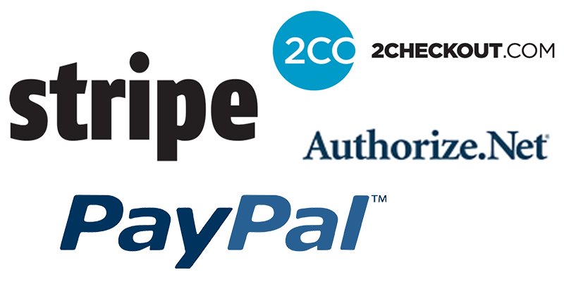 Multiple Payment Gateways and Currencie