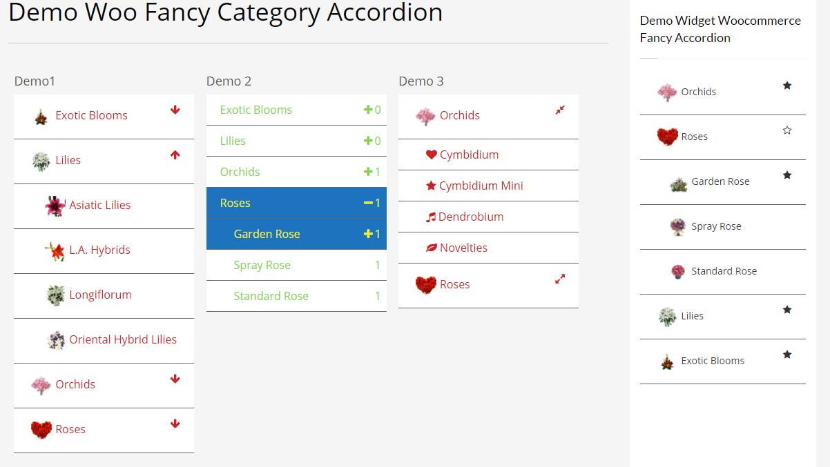 Woocommerce Fancy Category Accordion - 4