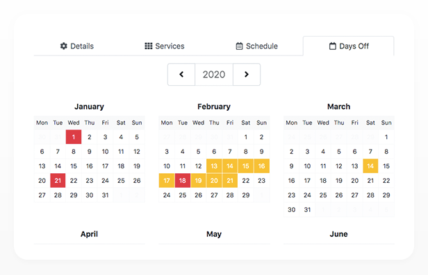 Bookly PRO –Appointment Booking and Scheduling Software System - 185