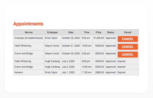 Bookly PRO –Appointment Booking and Scheduling Software System - 201