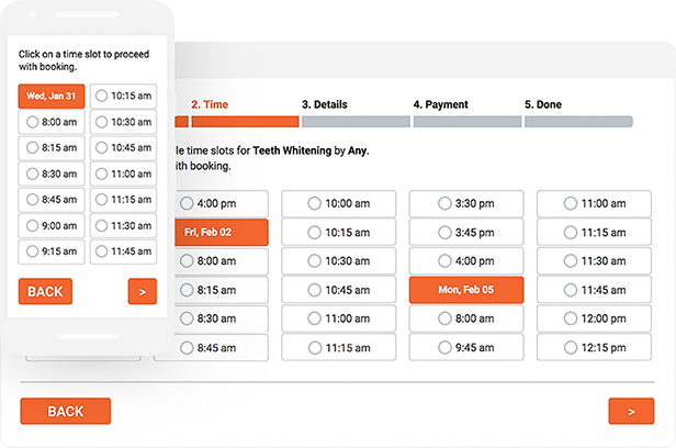 Bookly PRO –Appointment Booking and Scheduling Software System - 25