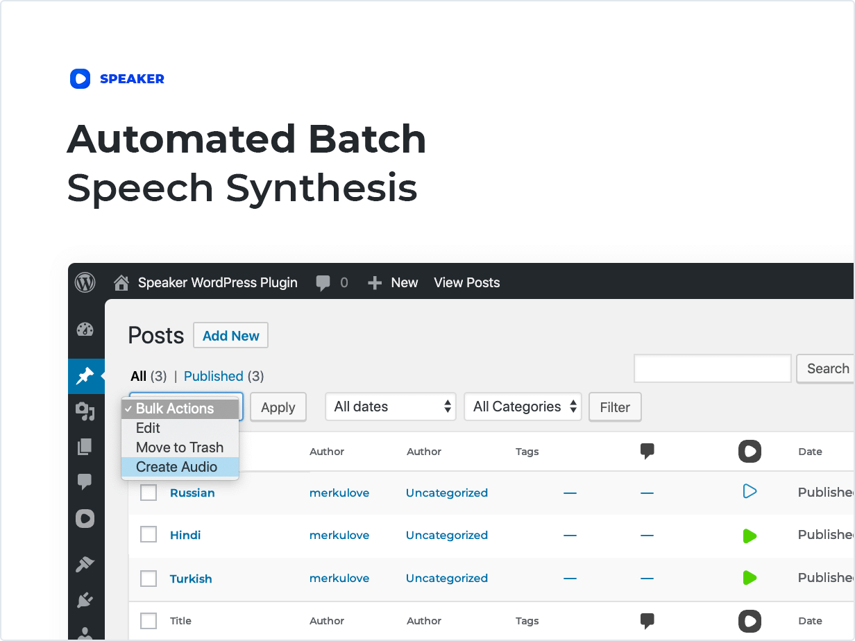 Batch Page Processing
