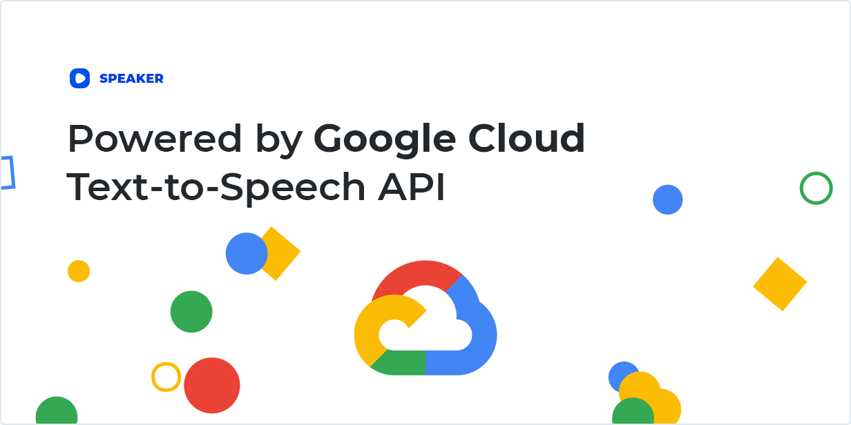 Powered by Google Cloud Text-to-Speech API
