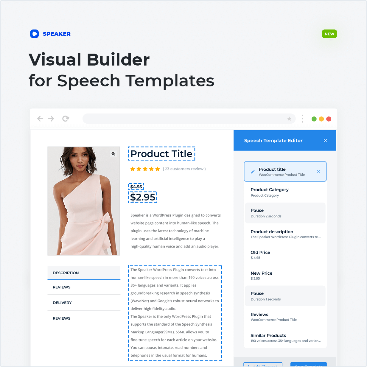 Visual Speech Template Builder