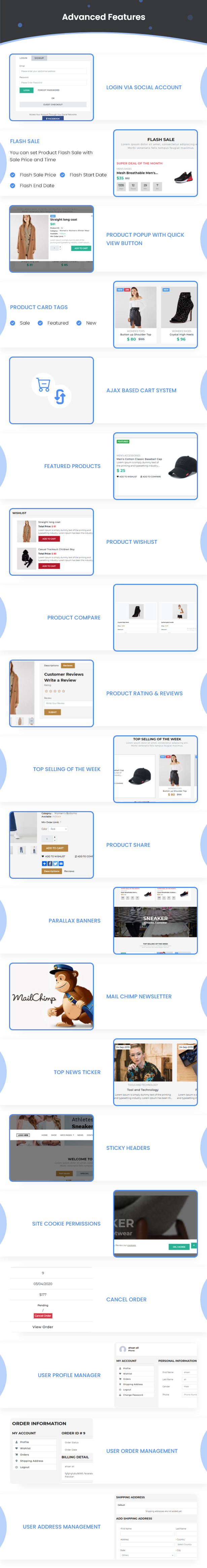Best Ecommerce Solution with Delivery App For Grocery, Food, Pharmacy, Any Stores / Laravel + IONIC5 - 33