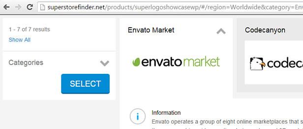 Shareable links for logos showcase SEO friendly WordPress plugin