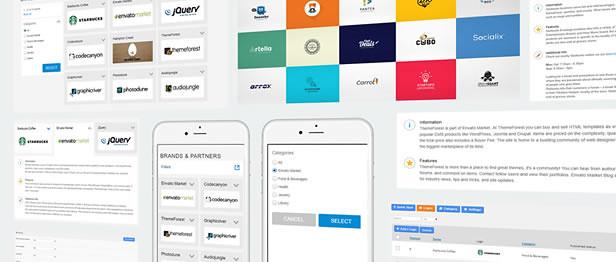 Fully responsive logo showcase with Multiple Layouts WordPress Plugin