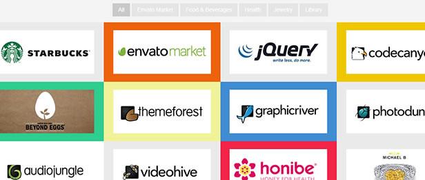 Fully Customizable Logos Showcase for WordPress website