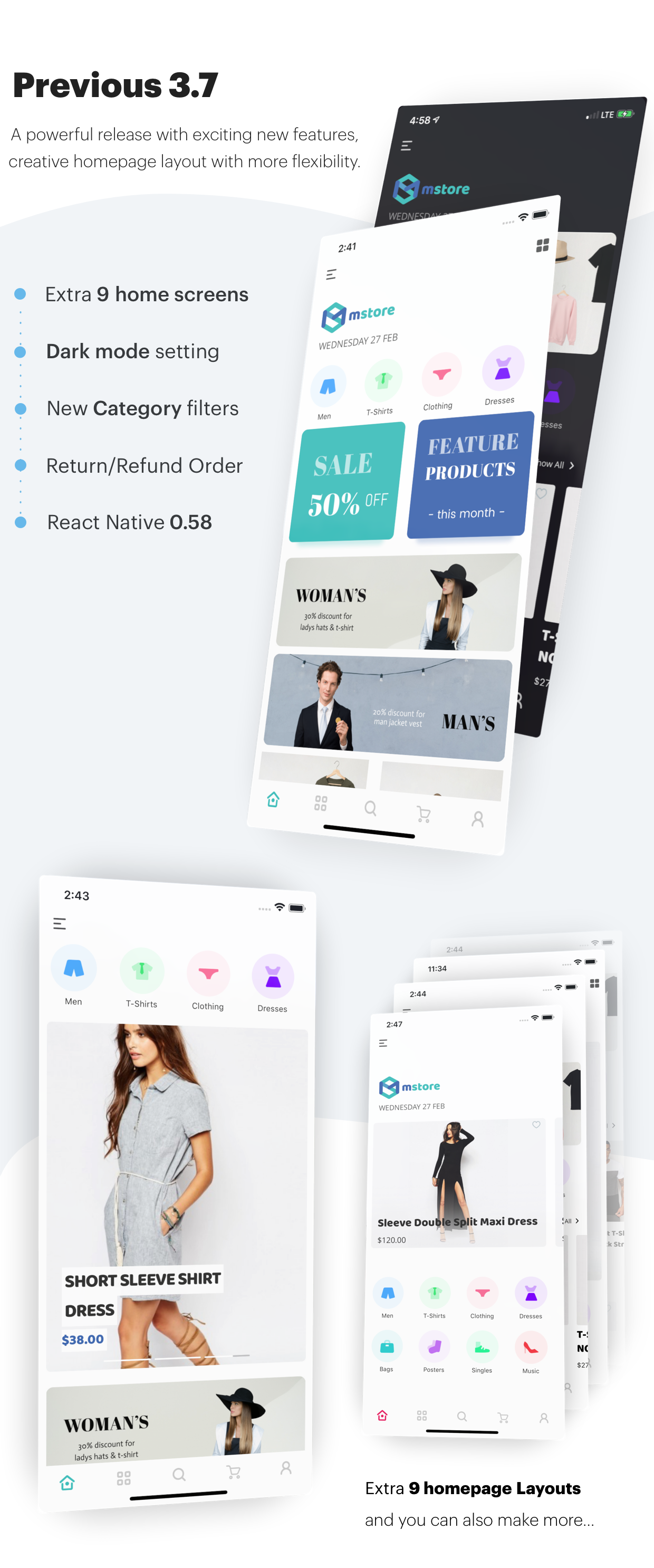 Mstore Expo - Complete React Native template for WooCommerce - 8