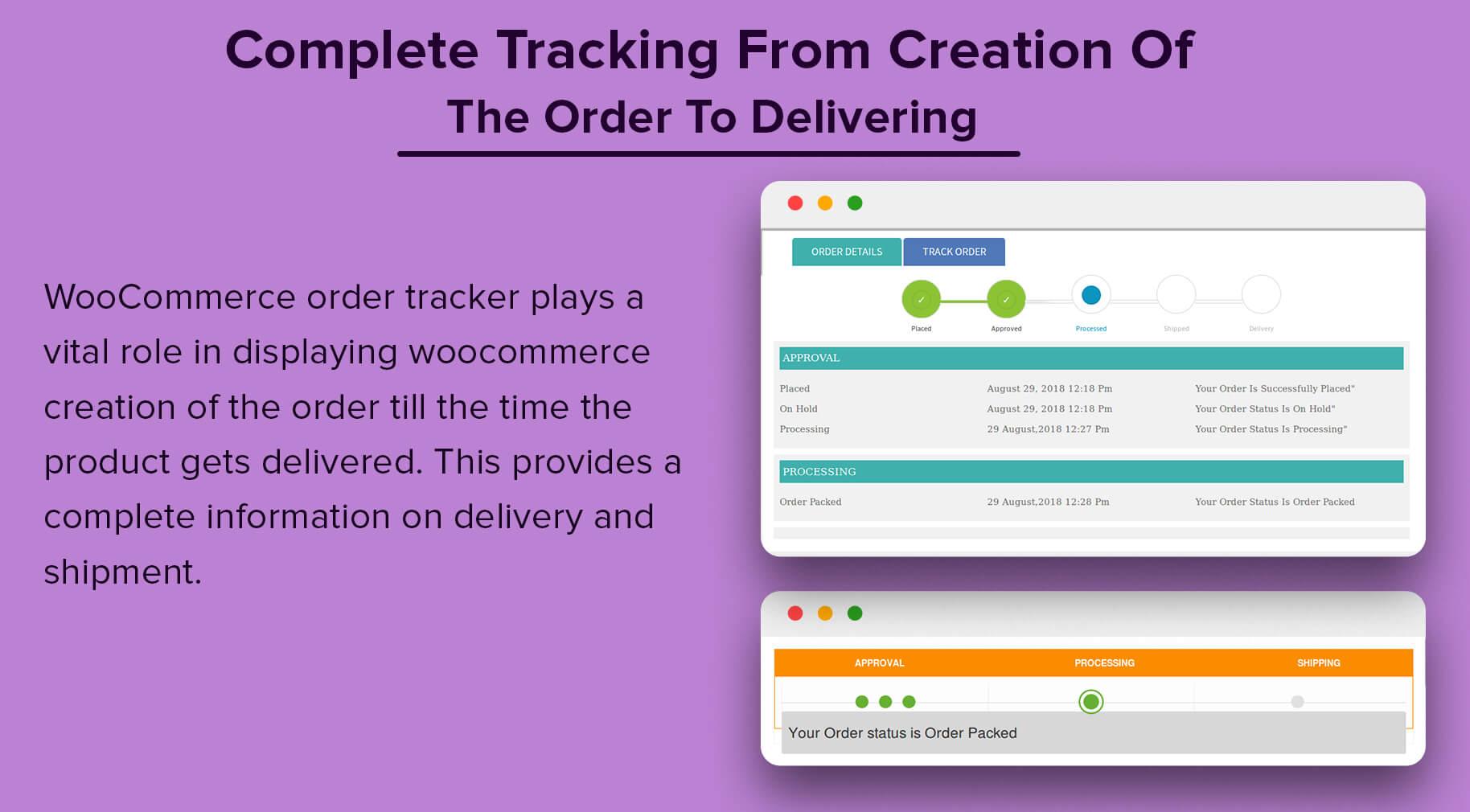 WooCommerce Order Tracker - 9