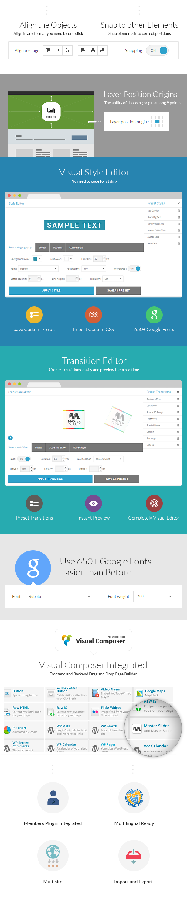 Master Slider - Touch Layer Slider WordPress Plugin - 7