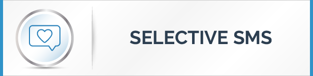 Selective SMS Sending Feature