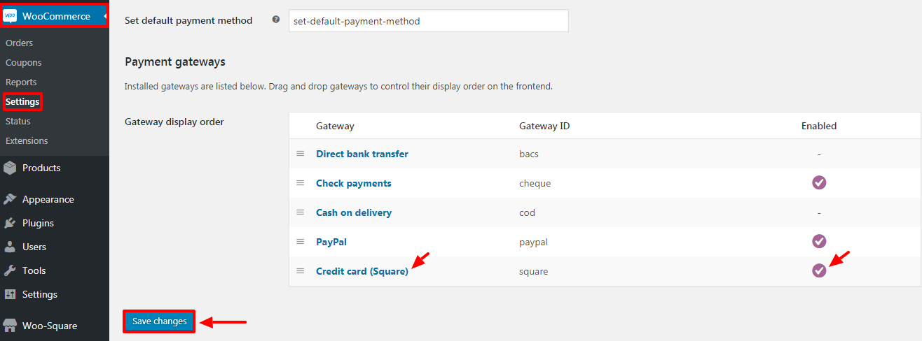 WooCommerce Square Up Payment Gateway - 13