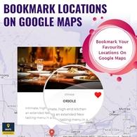 Bookmark Locations On Google Maps