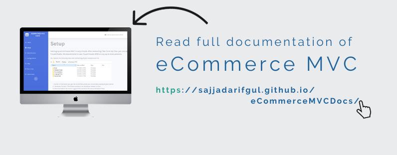 Documentation of eCommerceMVC