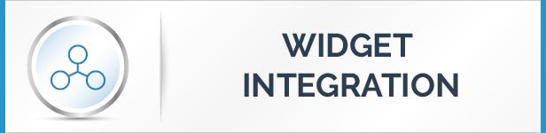 Widget Integration Feature