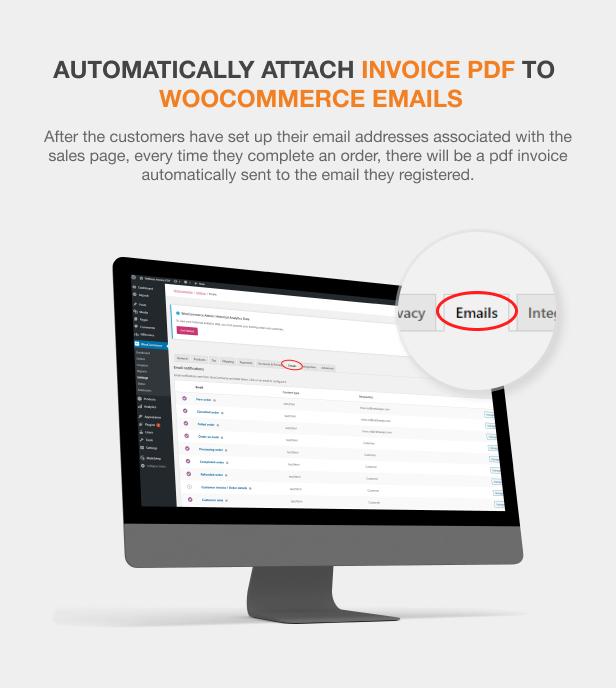 WooCommerce PDF Invoices Pro - 7