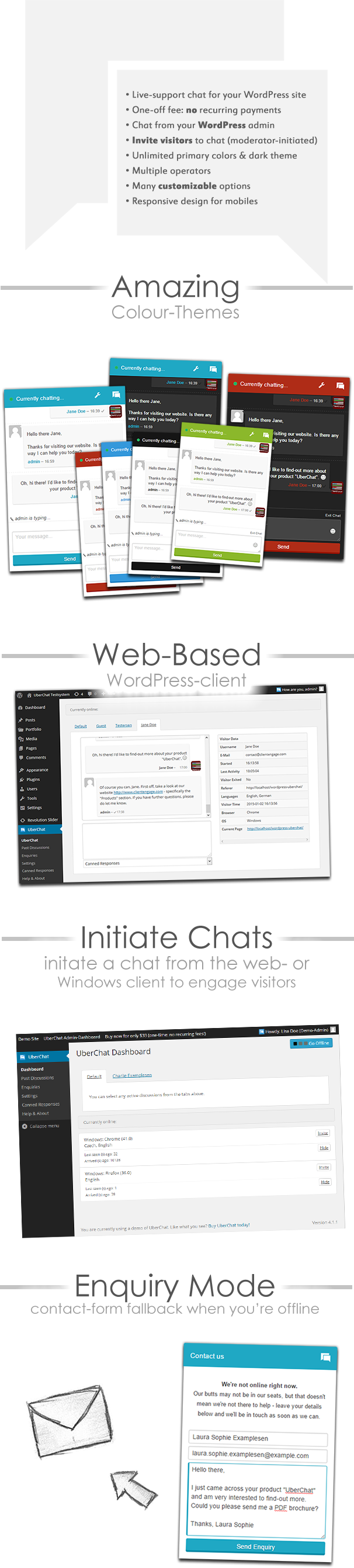 UberChat Overview of Functionality