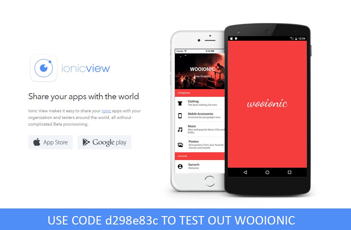 WooIonic – Ionic 3 App for WooCommerce - 3