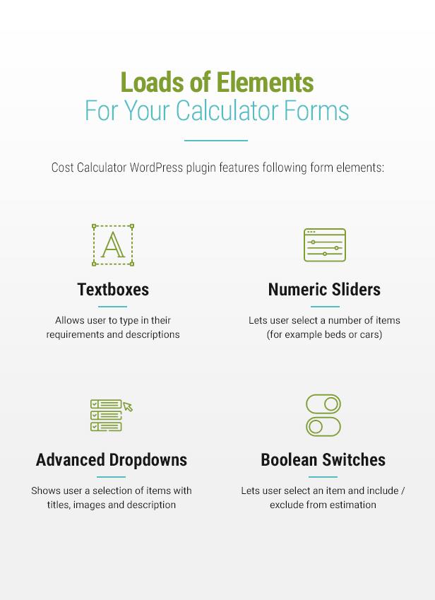 Cost Calculator WordPress - 6