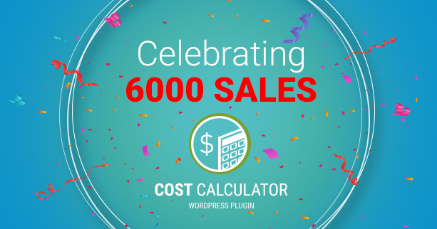 Cost Calculator WordPress - 1