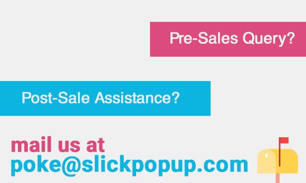 WordPress Popup Plugin - Slick Popup Pro - 9