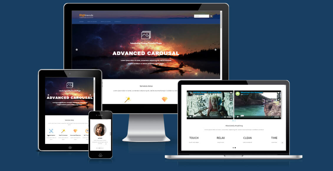 Ultimate Carousel For WPBakery Page Builder (formerly Visual Composer) - 2