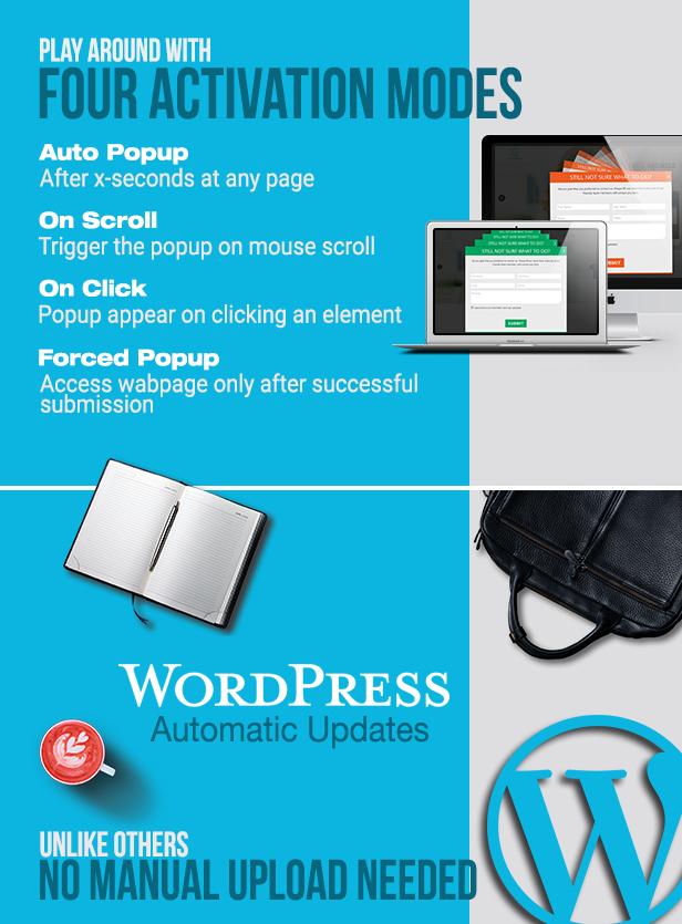 WordPress Popup Plugin - Slick Popup Pro - 5