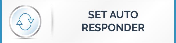 Set Auto Responder Feature