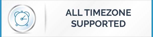 All Time Zone Supported