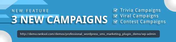 Ranking Solutions WordPress Bulk Sms Marketing Plugin For Businesses And Companies Now Available With Trivia, Viral And Contest Campaigns
