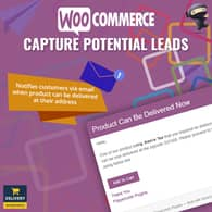 WooCommerce Capture Potential Leads