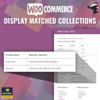 WooCommerce Display Matched Collections