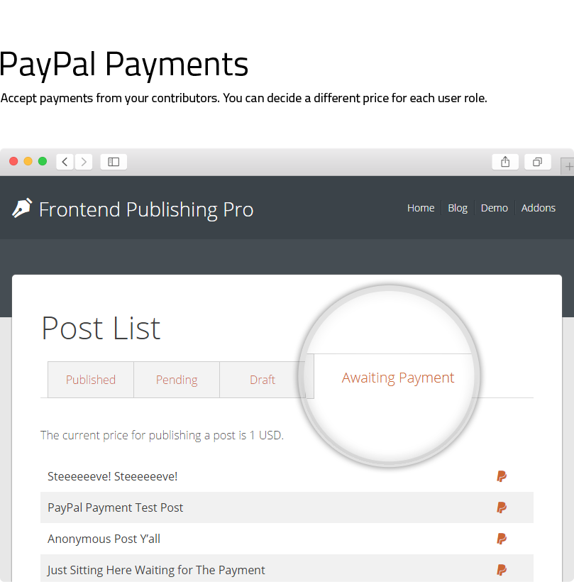 Frontend Publishing Pro - WordPress Post Submission Plugin - 4