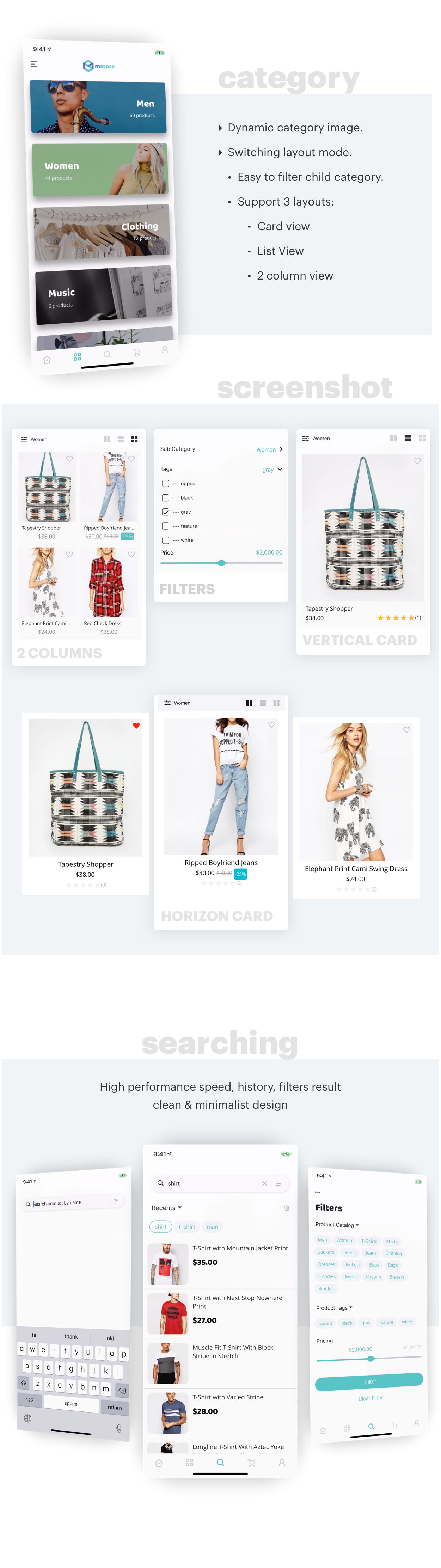 Mstore Expo - Complete React Native template for WooCommerce - 12
