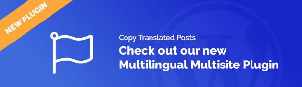 Multilingual Multisite Copy Posts