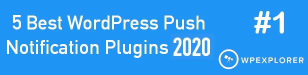 Smart Notification WordPress Plugin. Web & Mobile Push, FB Messenger, FB Notifications & Newsletter. - 1