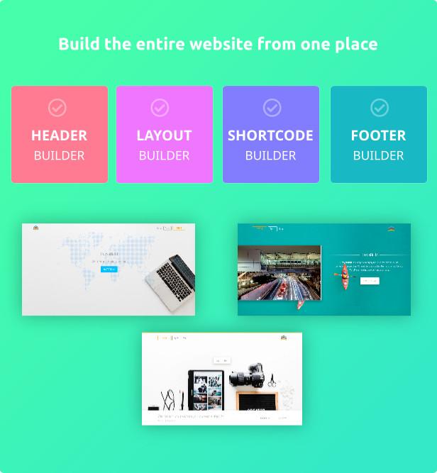 HayyaBuild - build the entire website