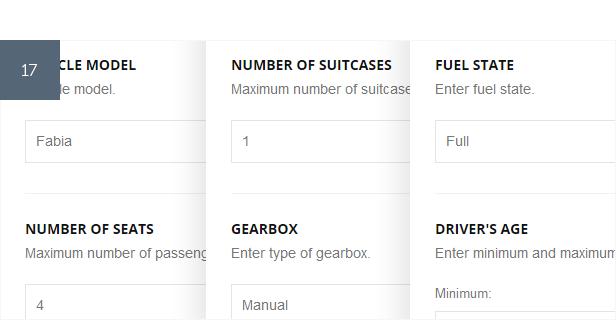 Car Rental Booking System for WordPress - 14
