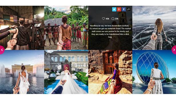 Prestashop - Instagram Social Stream Grid With Carousel